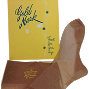 Gold Mark Seamed Nylon Hosiery