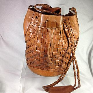 Silvia Fernandez Leather BoHo Purse