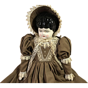Old Fashioned Porcelain Doll