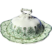 J & G Meakin Genoa Covered Round Butter Dish