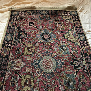 Kerman Vase Wool Rug by Karastan