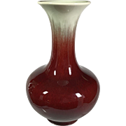 Oxblood Red Catalina Pottery Vase