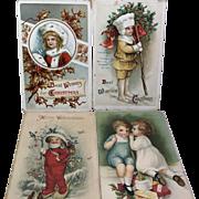 Children of Christmas / 4 Postcards