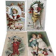 Children of Christmas / 4 Postcards