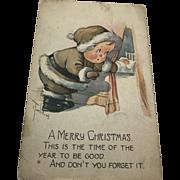Signed C. Twelvetrees Christmas