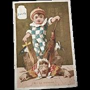 La Victoire: Victorian Trade Card