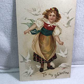 1908 Embossed IAPC Valentine