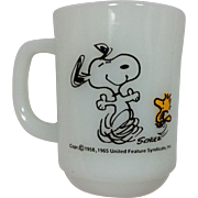 Fire King Snoopy Mug