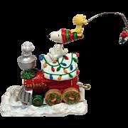 Peanuts Holiday Train:  Danbury Mint