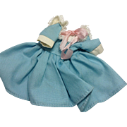 Skipper's Blue Dress by Mattel 1960's