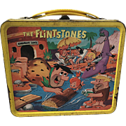 1960s Flintstones Metal Lunchbox