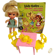 Mattel's Greta Griddle #3508 Liddle Kiddle1966