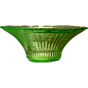 Depression Glass Mayfair Open Rose Bowl