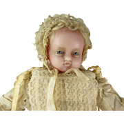 Fabulous Antique, all original PIERROTTI WAX DOLL from 1875, Museum Quality Doll