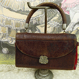 Antique original French sewing necessaire for your Fashion doll or Bébé appr. 1890