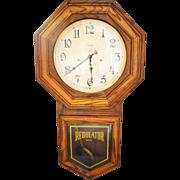 Vintage Ansonia Regulator Wall clock