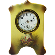 New Haven Porcelain Wind Up Clock