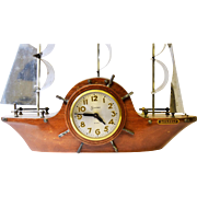 Sessions Eight Day Mastercrafters Wind Up Ships Clock