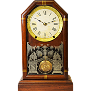 Antique Seth Thomas Wooden Mantel Clock