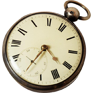 Rare Antique S.I. Tobias & Co. Liverpool Pocket Watch
