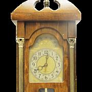 Vintage Unietd Electric Brooklyn NYC Plug In Shelf/Display Clock-Working!