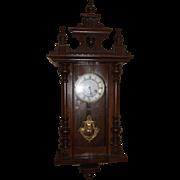 Antique Junghans Regulator Wall Clock