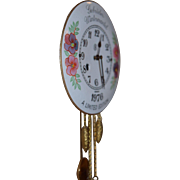 Vintage German Limited Edition Porcelain Pendulette