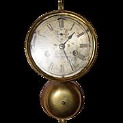 Antique Seth Thomas Ships Clock circa 1870. This a rarer type ships clock by Seth Thomas.