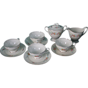 10 Piece Homer Laughlin Tea Set