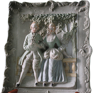 2 Occupied Japan 3D Wall Plaques