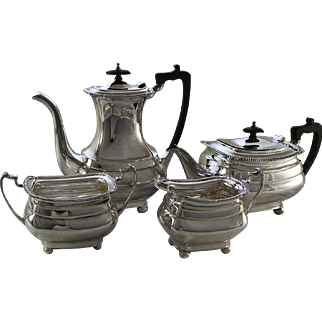 Silver 4 Pc. Tea & Coffee Set