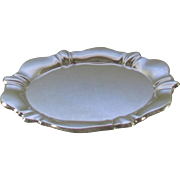 Silver Shaped Salver