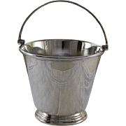 Ice Pail with Strainer, Applied Plain Mount