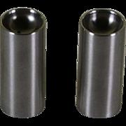 Stelton Stainless Tall  Salt & Pepper Shakers designed by Arne Jacobsen