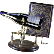 Mechanical Gold Wine Cradle