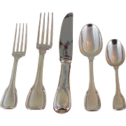 Charming  Sterling Silver 5-pc Place-Setting, 32- Clos-Lucé