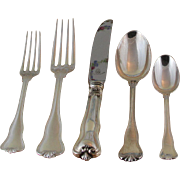 Simply Elegant Sterling Silver 5-pc Place-Setting, 93- Giscour
