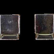 Sterling Silver Pair Card or Menu Holder