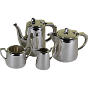 Individual 4 Piece Tea & Coffee Set