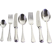 Complete European Cutlery Set for 12, including Fish Eaters & Serving Pieces
