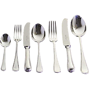 Canteen of Complete European Cutlery Set for 12, including Fish Eaters & Serving Pieces