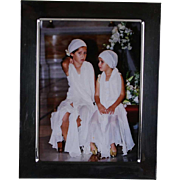 Quality Sterling Silver Photo Frame, Wide Plain