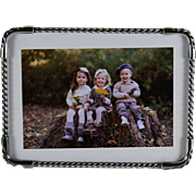Fine Quality Small Sterling Silver Photo Frames, Rope