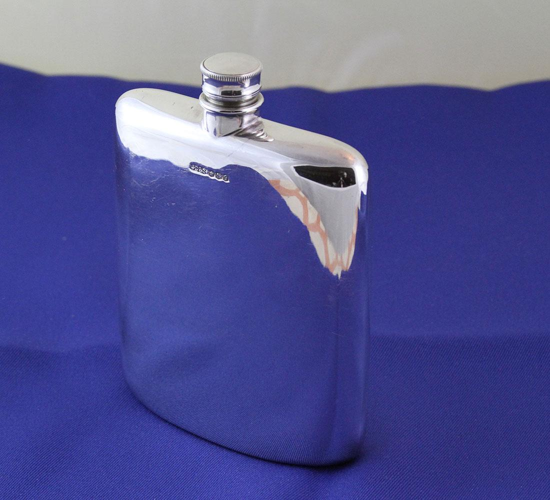 Sterling silver flask sold on ruby lane
