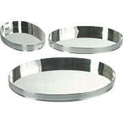 A quality large silver gallery tray, elegant plain design, ideal to entertain your Guests.