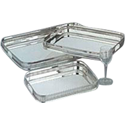 Silver Gallery Tray, Embossed
