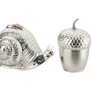 Silver Ice Bucket Thermos, Acorn
