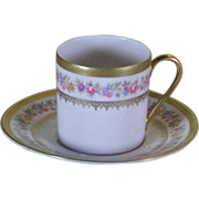 Collector's Demitasse Cup & Saucer