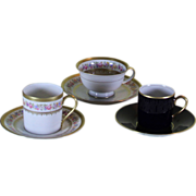 Collector's Demitasse Cups & Saucers
