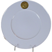 Dinner Plate Arkadia with Gold Medallion